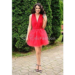 Rochie Versatila cu Tulle Red imagine