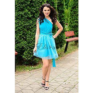 Rochie Versatila cu Tulle Turquoise imagine