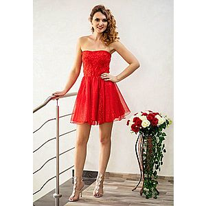Rochie Ella Collection Baby Doll Red imagine