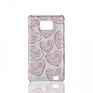Husa Samsung Galaxy SII - C'est L'amour RED imagine