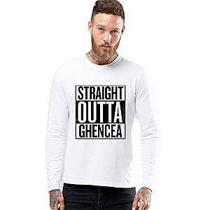 Bluza barbati alba - Straight Outta Ghencea imagine