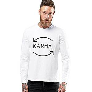 Bluza barbati alba - Karma imagine