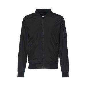 Urban Classics Geacă de primăvară-toamnă 'Light Bomber Jacket' negru imagine