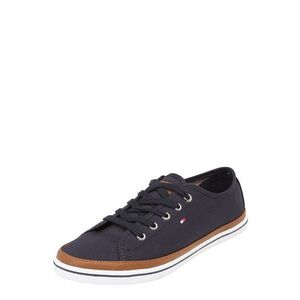 TOMMY HILFIGER Sneaker low albastru noapte / maro imagine