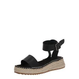 ABOUT YOU Sandale cu baretă negru imagine