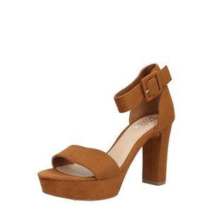 BULLBOXER Sandale cu baretă maro imagine