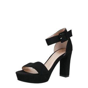 BULLBOXER Sandale cu baretă negru imagine