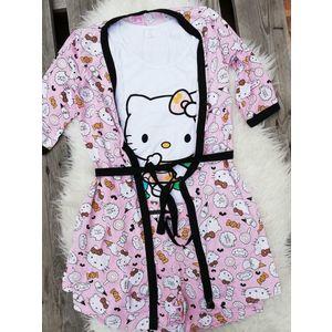 Pijamale 3 piese Hello Kitty imagine
