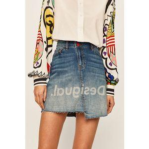 Desigual - Fusta jeans imagine