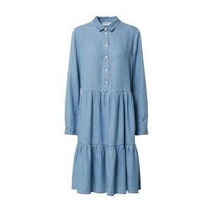 MOSS COPENHAGEN Rochie tip bluză 'Philippa' denim albastru imagine