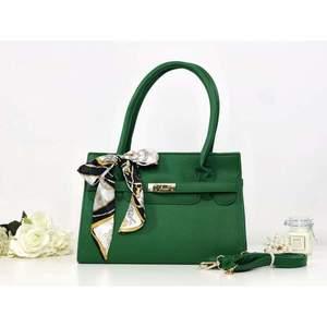 Geantă verde piele eco Eloise imagine