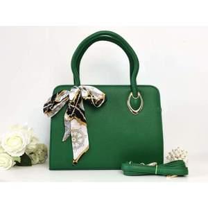 Geantă verde piele eco Kiara imagine