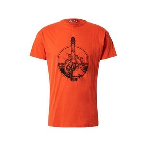 Derbe Tricou 'Bell Rock' roșu orange / negru imagine
