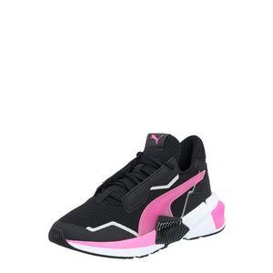 PUMA Pantofi sport alb / roz / negru imagine
