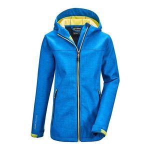 KILLTEC Geacă outdoor 'Lynge' albastru royal / galben neon imagine