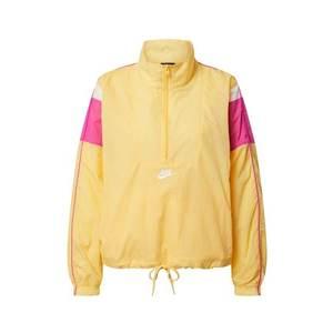 Nike Sportswear Geacă funcțională 'Heritage Half-Zip' roz / alb / galben imagine