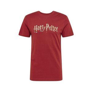 Mister Tee Tricou 'Harry Potter' roșu vin imagine