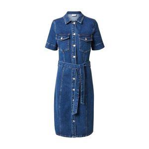 VILA Rochie tip bluză 'GLOVIN' denim albastru imagine