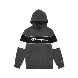 Champion Authentic Athletic Apparel Bluză de molton gri amestecat / negru / alb imagine