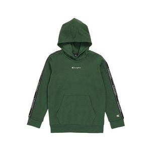 Champion Authentic Athletic Apparel Bluză de molton verde / alb / negru imagine
