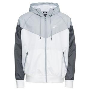 Nike Sportswear Geacă de primăvară-toamnă alb / gri / gri închis imagine
