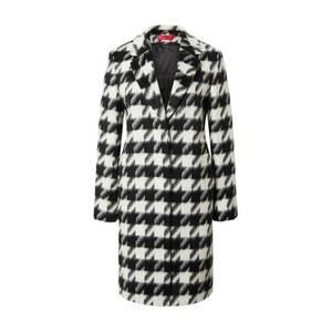HUGO Palton de primăvară-toamnă 'Maroni' alb / negru imagine
