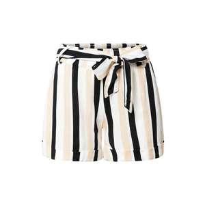 Hailys Pantaloni 'Lucia' bej / alb / negru imagine