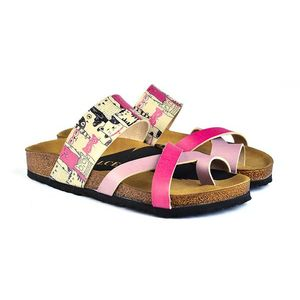 Calceo papuci roz Thong Sandals - 42 imagine