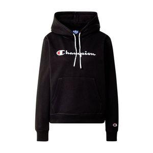 Champion Authentic Athletic Apparel Bluză de molton negru / alb / roșu / albastru noapte imagine