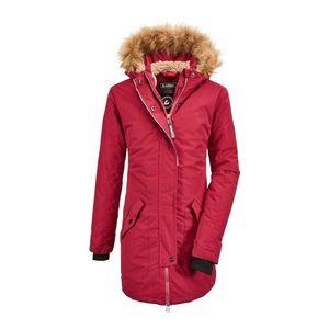 KILLTEC Geacă outdoor 'Bantry' roșu pastel / maro deschis / negru imagine