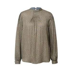 MOS MOSH Bluză 'Fina' verde / albastru deschis / maro imagine