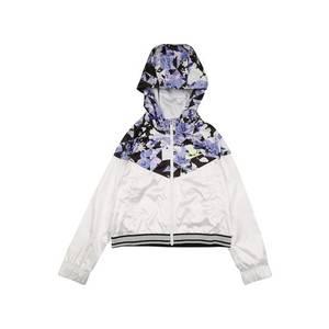 Nike Sportswear Geacă de primăvară-toamnă alb / mov imagine