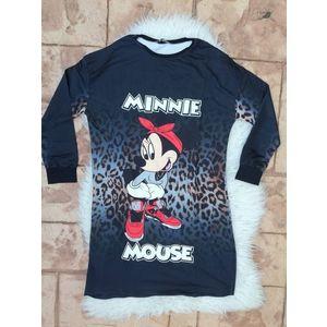 Rochie desene Minnie vs Mickey imagine