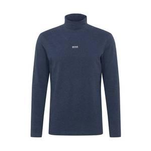 BOSS Tricou albastru închis imagine