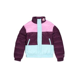 Champion Authentic Athletic Apparel Geacă de iarnă roz / albastru deschis / burgund imagine