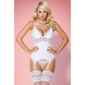 Corset seducator White Amour imagine