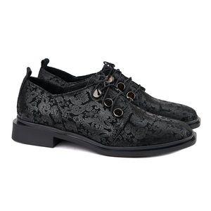 Pantofi dama piele cu model 1276 imagine