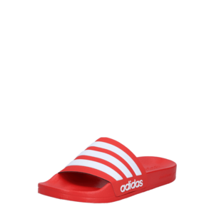 ADIDAS PERFORMANCE Flip-flops 'ADILETTE' alb / roșu imagine