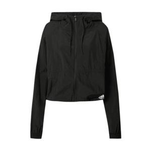 ADIDAS PERFORMANCE Jachetă de trening negru / alb imagine