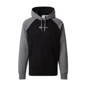 Champion Authentic Athletic Apparel Bluză de molton negru / gri / alb imagine
