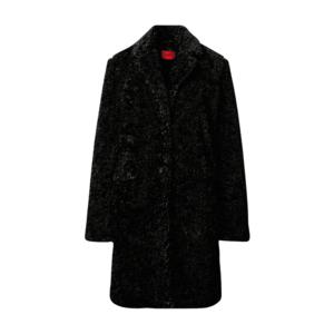 HUGO Palton de primăvară-toamnă negru imagine