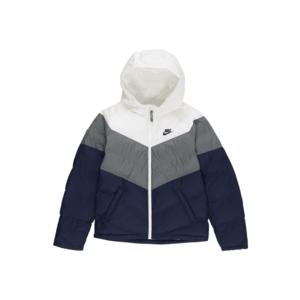 Nike Sportswear Geacă de iarnă albastru / alb / gri imagine