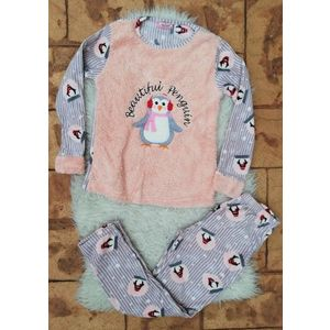 Pijama de dama model Beautiful Penguin Roz imagine