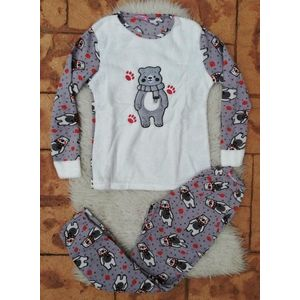 Pijama de dama model Bear's Imprint imagine