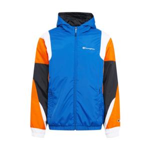 Champion Authentic Athletic Apparel Geacă de primăvară-toamnă albastru închis / portocaliu / alb / negru imagine
