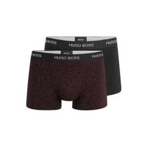 BOSS Casual Boxeri roșu / negru imagine