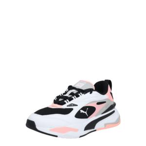 PUMA Sneaker low 'RS-FAST' negru / roz / alb / gri imagine