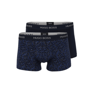 BOSS Casual Boxeri albastru / negru / albastru noapte / alb imagine