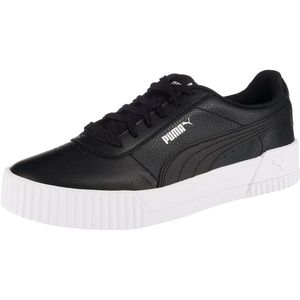 PUMA Sneaker low 'Carina L' negru / alb imagine