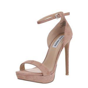 STEVE MADDEN Sandale cu baretă ' SARAH ' gri-maro / maro / bej imagine